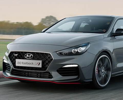 Hyundai The new Hyundai i30 Fastback N